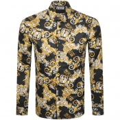 Product Image for Versace Jeans Couture Long Sleeve Shirt Black