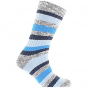Product Image for Birkenstock Slub Socks Blue