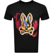 Product Image for Psycho Bunny Whitstable Logo T Shirt Black