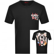 Product Image for HUGO Dostok T Shirt Black