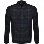 Product Image for Nudie Jeans Long Sleeved Sten Shirt Black