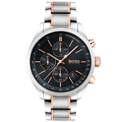 Product Image for BOSS HUGO BOSS 1513473 Grand Prix Watch Silver