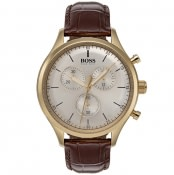 Product Image for BOSS HUGO BOSS 1513545 Chronograph Watch Brown