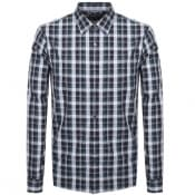 Product Image for Michael Kors Slim Fit Check Shirt Green