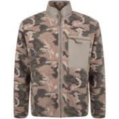 Product Image for Penfield Natrick Fleece Full Zip Sweatshirt Brown