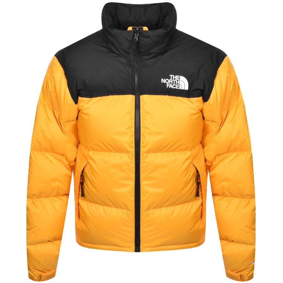 The North Face 1996 Nuptse Down Jacket Yellow Mainline Menswear Denmark