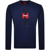 Product Image for HUGO Dongiri Sweatshirt Blue