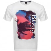 Product Image for BOSS Tsummery T Shirt White