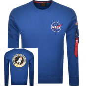 Product Image for Alpha Industries Space Shuttle Sweatshirt Blue