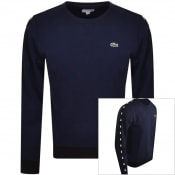 Product Image for Lacoste Taped Sweatshirt Navy