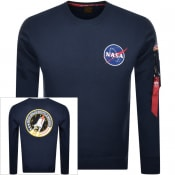 Product Image for Alpha Industries Space Shuttle Sweatshirt Navy