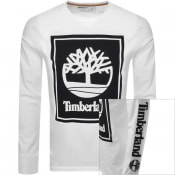 Product Image for Timberland Stack Logo T Shirt White