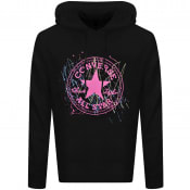 Product Image for Converse Splatter Paint Logo Hoodie Black