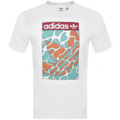 Product Image for adidas Originals Summer Tongue T Shirt White