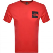 Product Image for The North Face Fine T Shirt Red