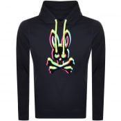 Product Image for Psycho Bunny Holloway Pullover Hoodie Navy