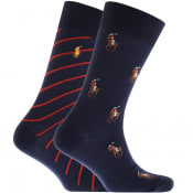 Product Image for Ralph Lauren 2 Pack Socks Navy