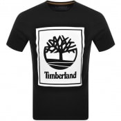 Product Image for Timberland Stack Logo T Shirt Black