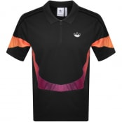 Product Image for adidas Originals Sport Polo T Shirt Black