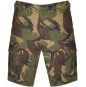 Product Image for Ralph Lauren Cargo Camouflage Shorts Kahki