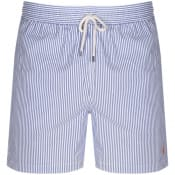 Product Image for Ralph Lauren Seersucker Traveller Swim Shorts Blue