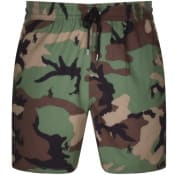 Product Image for Ralph Lauren Traveller Camo Swim Shorts Green