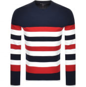 Product Image for Michael Kors Stirpe Sport Sweatshirt Navy