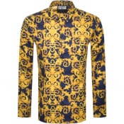 Product Image for Versace Jeans Couture Long Sleeve Shirt Navy