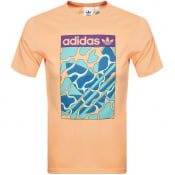 Product Image for adidas Originals Summer Tongue T Shirt Orange