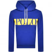 Product Image for Ralph Lauren Polo Logo Hoodie Blue