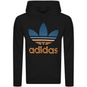 Product Image for adidas Originals Trefoil Hombre Hoodie Black