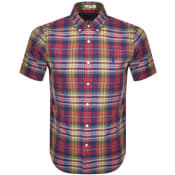 Product Image for Ralph Lauren Checked Short Sleeved Shirt Red