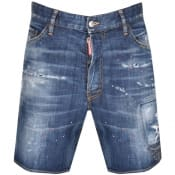 Product Image for DSQUARED2 Made With Love Shorts Blue