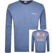 Product Image for Columbia Logo Fleece Jumper Blue