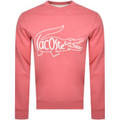 Product Image for Lacoste Logo Sweatshirt Pink