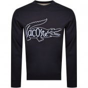 Product Image for Lacoste Logo Sweatshirt Navy