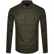 Product Image for Armani Exchange Regular Long Sleeved Shirt Green