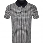 Product Image for Armani Exchange Logo Polo T Shirt Navy