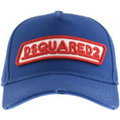 Product Image for DSQUARED2 Logo Baseball Cap Blue