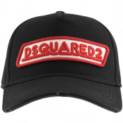 Product Image for DSQUARED2 Logo Baseball Cap Black
