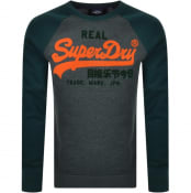 Product Image for Superdry Raglan Sweatshirt Green