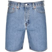 Product Image for Levis Loose Fit 469 Denim Shorts Blue
