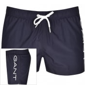 Product Image for Gant Logo Swim Shorts Navy