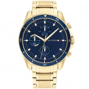 Product Image for Tommy Hilfiger IP Bracelet Watch Gold