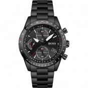 Product Image for BOSS 1513854 Pilot Edition Chronograph Watch