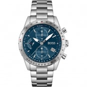 Product Image for BOSS 1513850 Pilot Edition Chronograph Watch