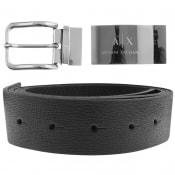 Product Image for Armani Exchange Reversible Belt Gift Set Black