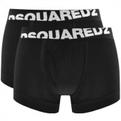 Product Image for DSQUARED2 Underwear Double Pack Trunks Black