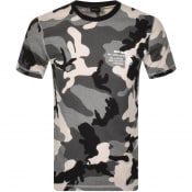 Product Image for Diesel T Diegos Camo T Shirt Grey