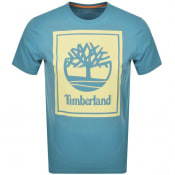 Product Image for Timberland Stack Logo T Shirt Blue